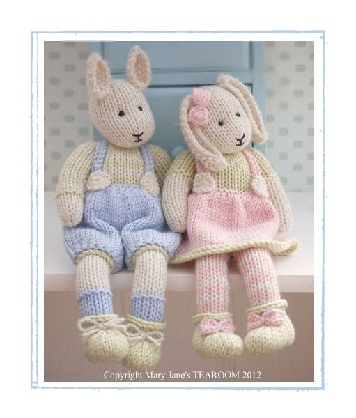 LILY & SAMUEL...Spring Baby Bunnies / 2 Pattern Deal ...