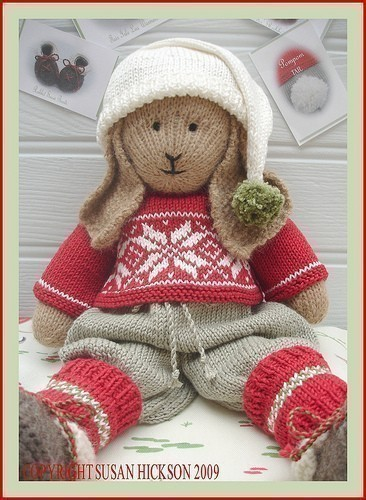 Bo Rabbit Toy Knitting Pattern Lapland Visitors Part 1 Pdf