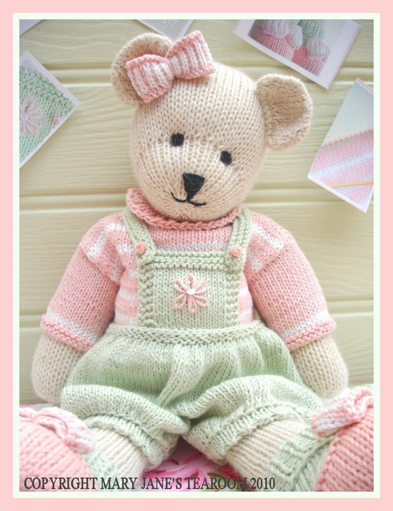 CANDY Bear/ Toy/ Teddy Knitting Pattern/ Pdf /EMAIL Pattern Plus ...